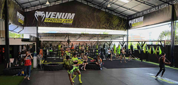 Venum Muay Thai Training camp Pattaya