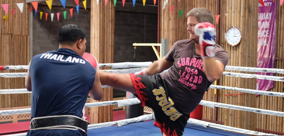 Big Box squad Muay Thai in Bangkok