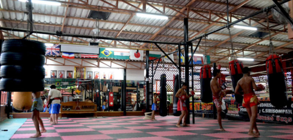 Luktupfah  Muay Thai camp