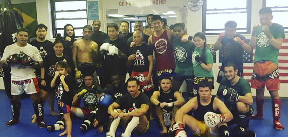 Seapeanong Thai Boxing gym